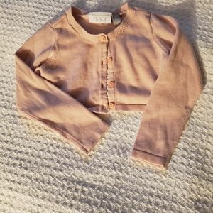 The Children's Place Pink Cardigan
